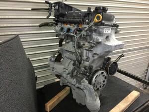 パッソ KGC10 エンジン 本体 絶好調 不調無し 実低走行69405キロ 平成19年3月 カラーS28 1KR-FE KGC15 QNC10 ブーンM300S