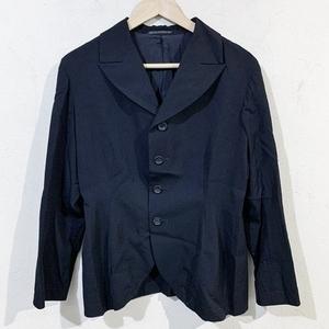 Y's  ワイズ YE-J01-100 ウールギャバジャケット 3 ブラック