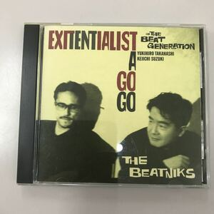 CD 中古☆【邦楽】EXITENTIALIST A GOGO THE BEATNIKS