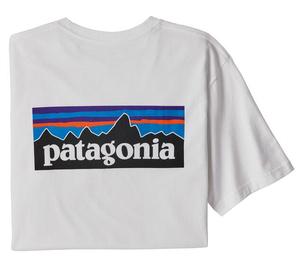パタゴニア メンズ P-6ロゴ レスポンシビリティー WHI (L)