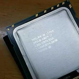 CPU core i7-920 2.66GB 8M Cache 管理番号0406112 まとめ発送可能!