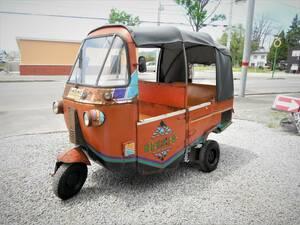 激レア車!インドネシア 三輪タクシー バジャイ オート三輪 ミゼット 引取限定 北海道