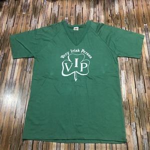 即決・クリックポスト発送・ビンテージ・Bomark社の'V.I.P'Tシャツ・L(XXL表記)