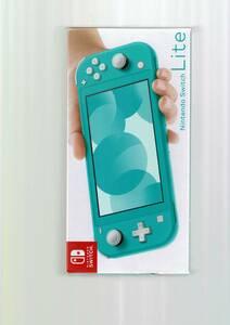 新品未開封 ニンテンドー スイッチ ライト 本体 ターコイズ 国内正規品 日本語版 Nintendo Switch Lite light