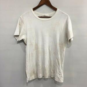 Y's for men【men4526】 2000s かすれプリントカットソー Tシャツ Yohji Yamamoto Pour Homme ヨウジヤマモトプールオム ワイズフォーメン