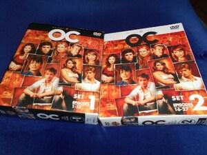 【DVD】 THE OC ファ-ストシ-ズン BOXセット1&2  13枚セット