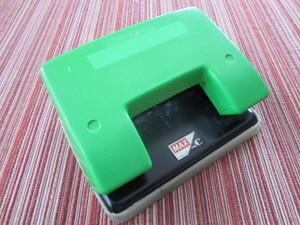 ◆昭和物レトロ◆ MAX『 穴あけパンチ(2穴パンチ) 緑色 』