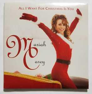 Mariah Carey All I Want For Christmas Is You 25周年記念盤 CD シングル 新品未開封 即決 マライア・キャリー Single 25th 限定盤 Hero