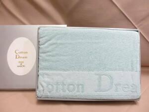 Cotton Dream バスタオル ブルー系 未使用品