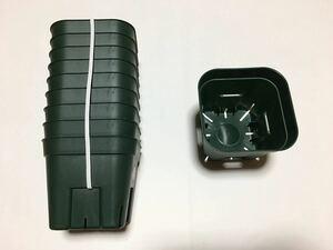 【送料無料】プレステラ 105 サイズ 緑 10個×2 グリーン スリット鉢 観葉植物 多肉植物 ハオルチア 鉢