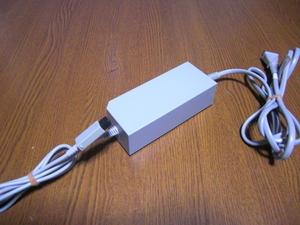 AC026【送料無料 動作確認済】Wii ACアダプター RVL-002  NINTENDO 任天堂 純正