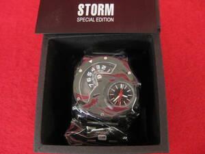 【ハッピー】未使用 STORM ストーム 腕時計 4656SL SARELLITE SLATE (AKAVULCAN) 5033597142131 DARTH BLACK 5033597143671