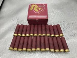 ◆◇再入荷!!空薬莢25本セット!! ピンク色 新RIOWINNER 空箱付 ショットガン 散弾銃 12番◇◆