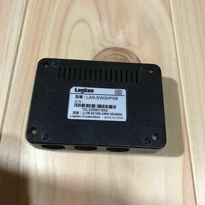 ロジテック コンパクト 小型 LAN ルーター 中古 動作品