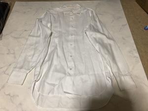 EDIFICE(エディフィス) ワイシャツ 長袖 6-5032-5303-3 ホワイト系 肩幅約54cm袖丈約56cmバスト約108cm着丈約80cm【アウトレット】P6