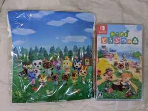Nintendo Switch あつまれ どうぶつの森 セブンネット限定特典 巾着付き あつ森 スイッチ ソフト 新品・未開封 即決