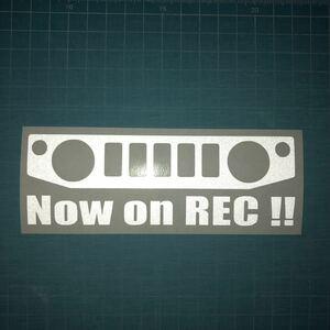 反射 ドライブレコーダー ステッカー JB64W 23 ジムニー スズキ クロカン JIMNY リフトアップ 林道 ステンシル 4wd 世田谷ベース