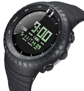 ■新品■BIDEN ダイバーズウォッチ ブラックフェイスドット 50M防水腕時計 スポーツ アウトドア ミリタリー