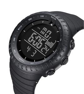 ■新品■BIDEN ダイバーズウォッチ ブラックフェイス 50M防水腕時計 スポーツ アウトドア ミリタリー