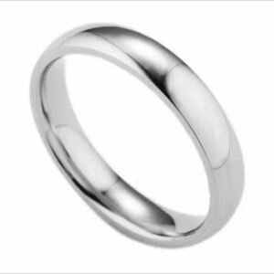 21 Stainless Ring Anti-Allergy Material Unisex Wedding Ring Engage Ring (No. 12 · 15 · 21 · 21 · No.23) High Quality