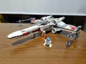 レゴ スターウォーズ T-65B Xウィング・スターファイター ルーク・スカイウォーカー R2-D2付き