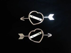 deco truck s-100 Heart marker for stainless steel ring 2 piece set handmade