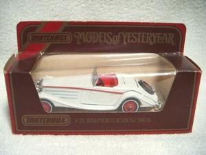 ■MATCHBOX マッチボックス1984年リミテッド『Y-20 1938 メルセデスベンツ MERCEDES BENZ 540K・イングランド製』激レアミニカー