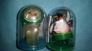 非売品:腕時計 イワトビペンギン フィギュア スタンプ 2種 保2003/オクパナ