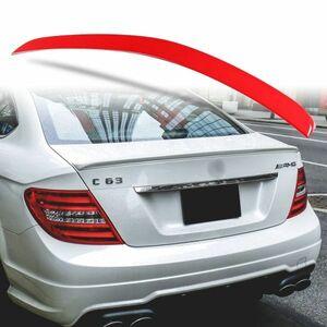 カスタム塗装 ABS製 トランクスポイラー メルセデスベンツ W204 C204用 クーペ Aタイプ 両面テープ取付 カラーコード指定 MTS-27175