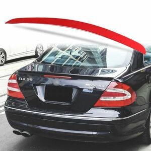 カスタム塗装 ABS製 トランクスポイラー メルセデスベンツ CLKクラス W209用 クーペ Aタイプ リアスポイラー カラーコード指定 MTS-27171