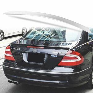 純正色塗装 ABS製 トランクスポイラー メルセデスベンツ CLKクラス W209用 クーペ Aタイプ リアスポイラー カラーコード:744 MTS-27171