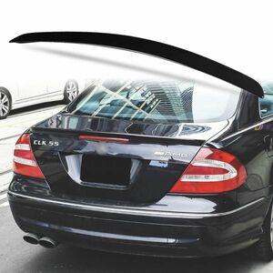 純正色塗装 ABS製 トランクスポイラー メルセデスベンツ CLKクラス W209用 クーペ Aタイプ リアスポイラー カラーコード:040 MTS-27171