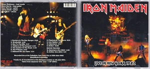 Iron Maiden アイアン・メイデン - Live In New York 1982 / Live at the Marquee, London 1980 CD