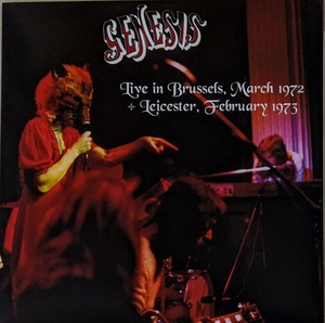 Genesis - Live In Brussels March 1972 + Leicester, February 1973 300枚限定アナログ・レコード