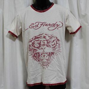 エドハーディー ED HARDY メンズ半袖Tシャツ Mサイズ NO73 新品