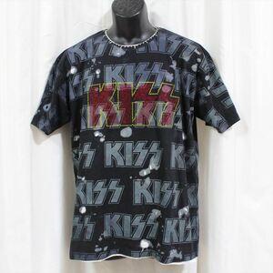 サディスティックアクション SADISTIC ACTION アイコニック メンズ半袖Tシャツ KISS Lサイズ ICONIC COUTURE 新品