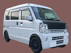 EVERY エブリィ バン DA17V / ワゴン DA17W ABS フェンダーアーチ 簡単装着 黒 スズキ エブリー(塗装必要なし)日本製