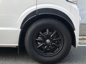 【在庫あり】EVERY エブリィ バン DA17V / ワゴン DA17W ABS フェンダーアーチ スズキ 簡単装着 塗装必要なし エブリー 日本製