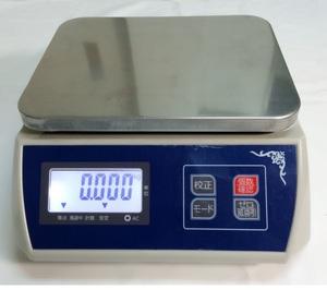 пыленепроницаемый цифровой весы 30kg/5g аккумулятор встроенный заряжающийся жидкокристаллический большой экран отображать нержавеющая сталь тарелка specification ( весы ) [ измерение цифровой итого . количество .] сверху тарелка весы