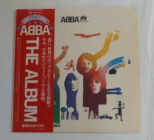 """レコード LP : ABBA """" The Album """" ( DSP-5105 Disco Mate/Polar Music JPN )"""