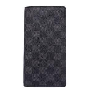 ルイヴィトン 札入れ 財布 ダミエグラフィット ポルトフォイユ ロン N62227 グレー×ブラック LOUIS VUITTON