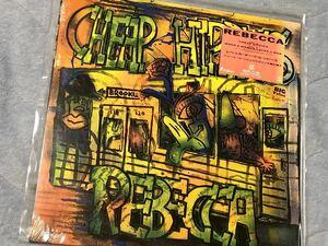 アナログvinylレコード 音が良い12インチ45rpm レベッカ cheap hippies チープヒッピーズ REBECCA NOKKO