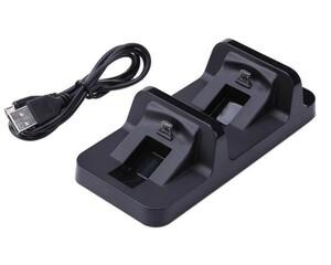 s049 PS4 コントローラー充電器 USB接続 互換品 あると便利なアイテム