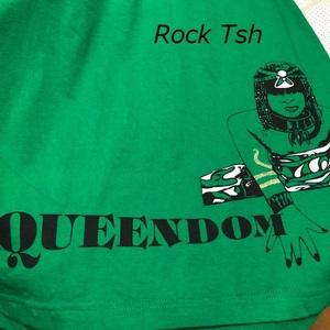 バンドT・ロックT PUSHIM QUEENDOM Tシャツ XXL(2XL) プシン レゲエ ビッグサイズ ●23