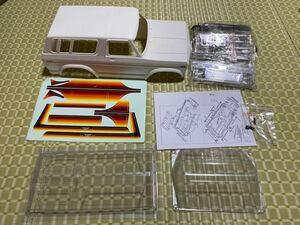 送料無料 新品 エクストラスピード 1/10 Ford ブロンコ プラボディ ホイールベース313mm SCX10 TRX4などに cc-02 cr-01