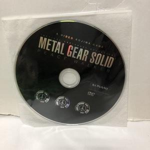 メタルギア ソリッド ピースウォーカー 店頭用DVD METAL GEAR SOLID 非売品