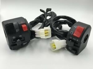 【左右 ハンドル スイッチ ボックス】 送料無料 パッシング 検索用) GSX250E VF400/F VT250/F VTZ250/F CBX400F CBR400F