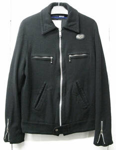 ジュンヤマン ルイスレザー Lewis Leathers : 縮絨 ライダース ( ブルゾン ジャケット コムデギャルソン COMME des GARCONS Rider Jacket