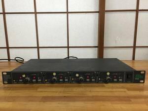 [送料無料][中古品][出音可] BSS FDS-360 位相補正可 アナログクロスオーバー チャンネルデバイダー 定価20万円