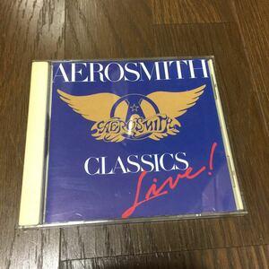 エアロスミス CLASSICS LIVE USA盤CD